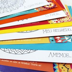 cartões mandala