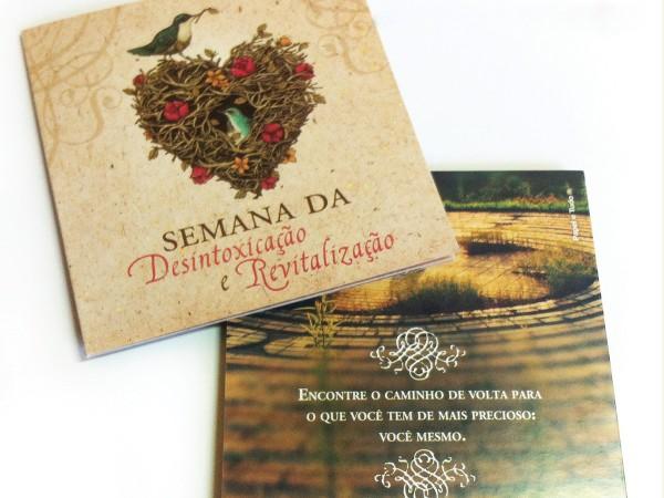 Folder de divulgação – Sítio Sertãozinho