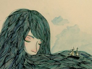 Oceano que criei no meu peito