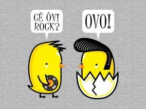 Hoje é dia de rock bebê
