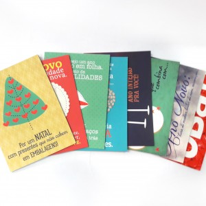 foto capa cartões de natal e ano novno