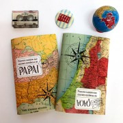 caderninho papai e vovô mapas