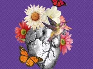 Gratidão floresce coração