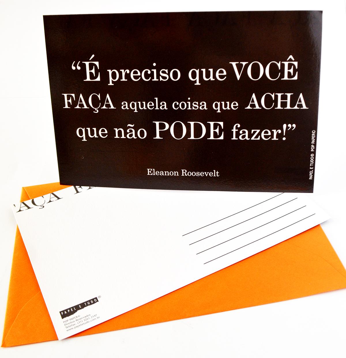 Cartões Postais Frases Célebres
