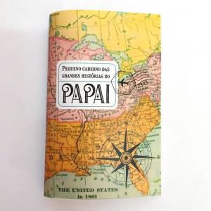 foto pequeno caderno das grandes histórias do papai
