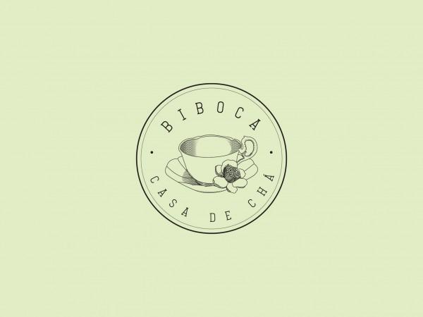 Identidade Visual Biboca Casa de Chá