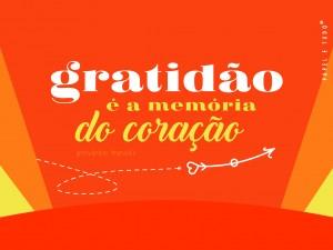 GRATIDÃO POSTAL