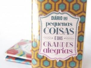 CADERNINHO DIÁRIO DAS PEQUENAS COISAS