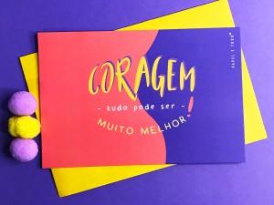 Cartão Postal Coragem